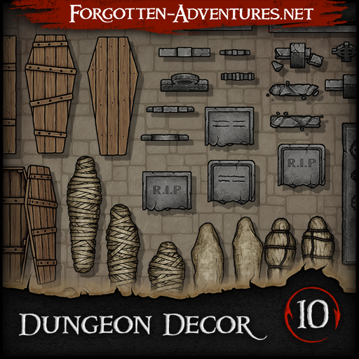 Dungeon Decor - Pack 10