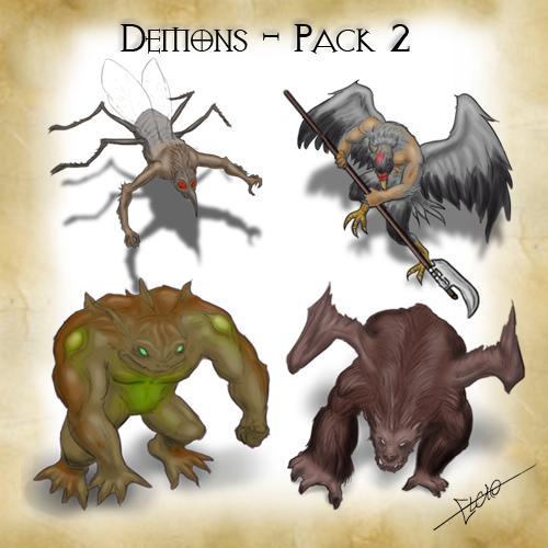 Demons - Pack 2