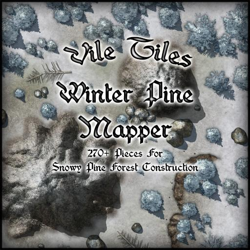 Vile Tiles: Winter Pine Mapper