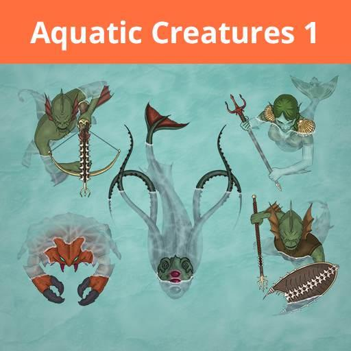 Jans Token Pack 5 - Aquatic Creatures 1