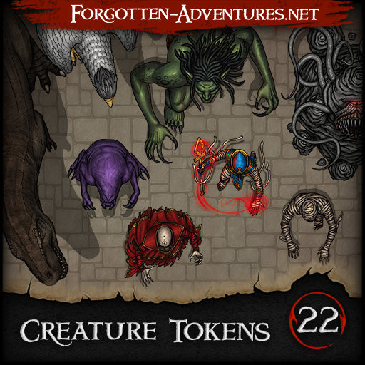 Creature Tokens - Pack 22