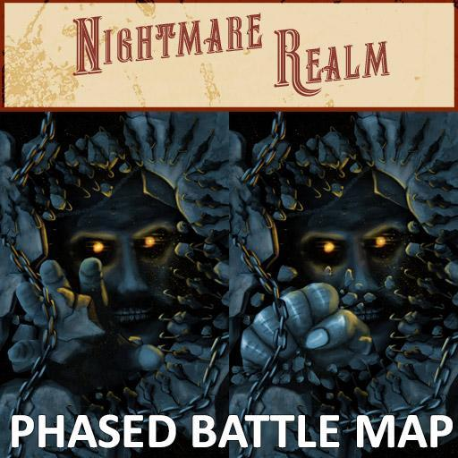 Nightmare Realm Phased Battle Map