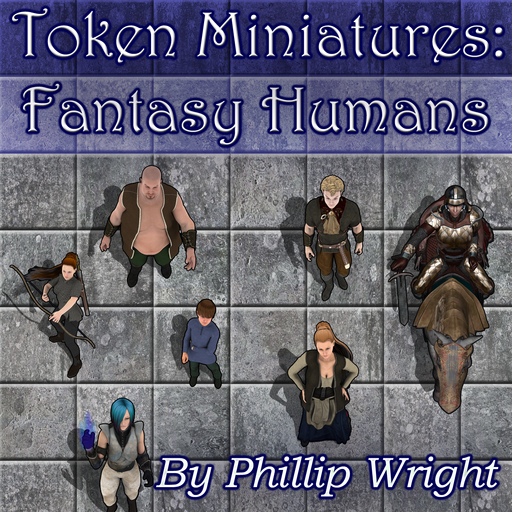Token Miniatures - Fantasy Humans