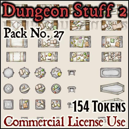 Dungeon Stuff and Furniture 2