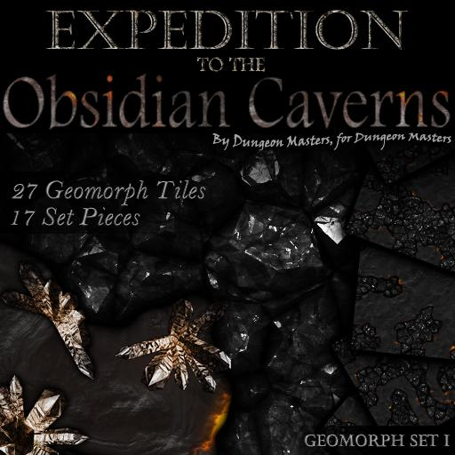 Expeditions - Obsidian Caverns
