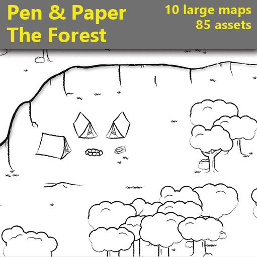 Pen & Paper - The Forest