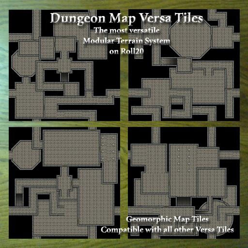 Dungeon Map Versa Tiles