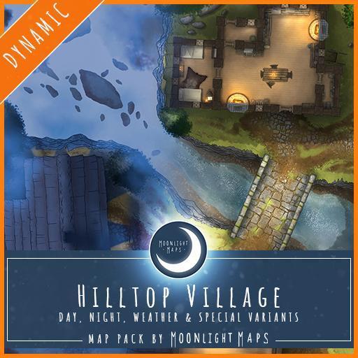 Dynamic   Hilltop Village