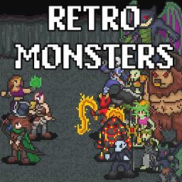 Retro Monsters