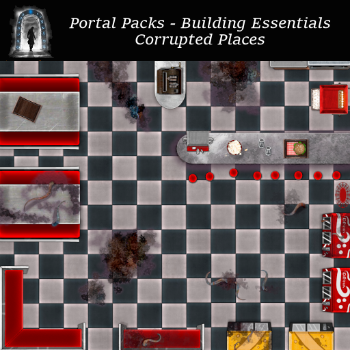 Portal Packs - Building Essentials - Corrupted Places