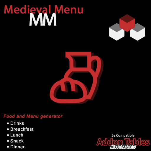 MM - Medieval Menu
