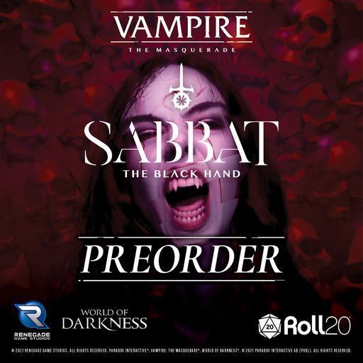 Sabbat: The Black Hand - A Sourcebook for Vampire: The Masquerade