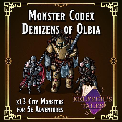 Monster Codex: Denizens of Olbia