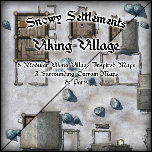 Snowy Settlements Viking Village