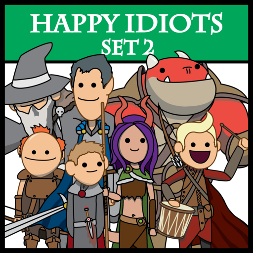 Happy Idiots Set 2