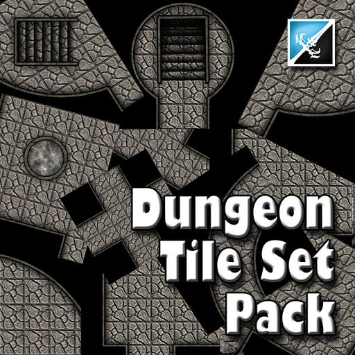 Dungeon Tile Set Pack