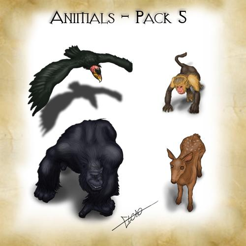 Animals - Pack 5