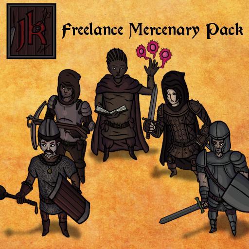 JK Freelance Mercenary Pack