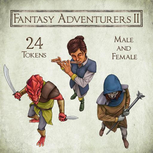 Fantasy Adventurers 2