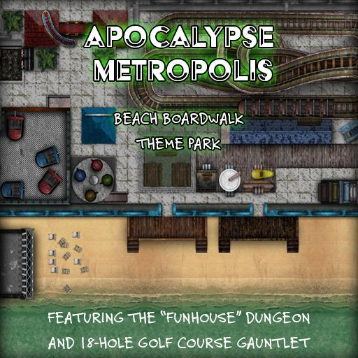 Apocalypse Metropolis: Beach Boardwalk Theme Park