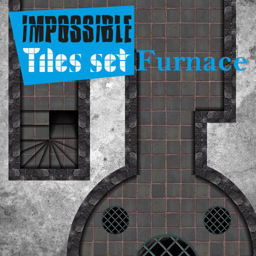 Impossible Tiles Set Furnace