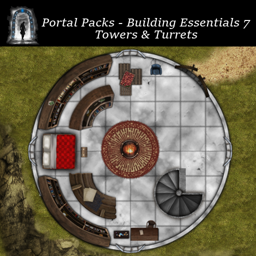 Portal Packs - Building Essentials 7 -Towers & Turrets