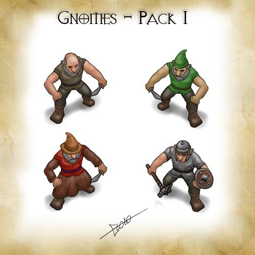 Gnomes - Pack 1