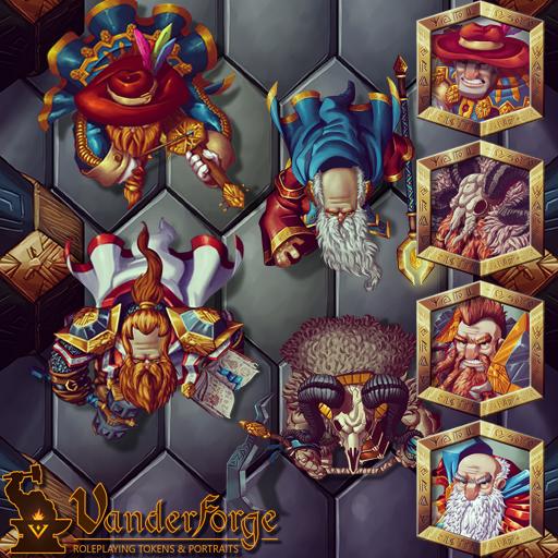 Male Dwarf Heroes 2