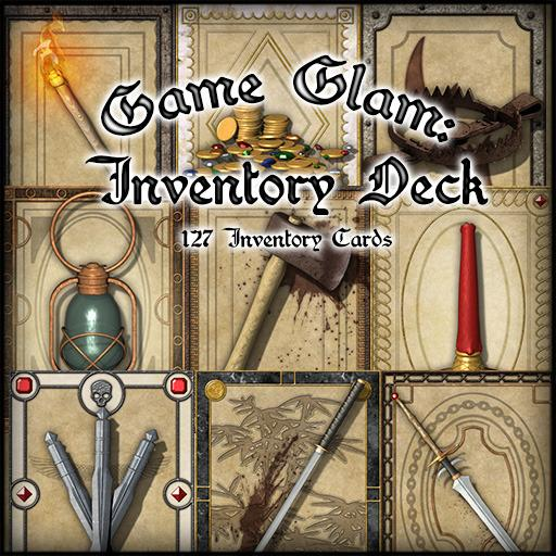 Game Glam: Inventory Cards