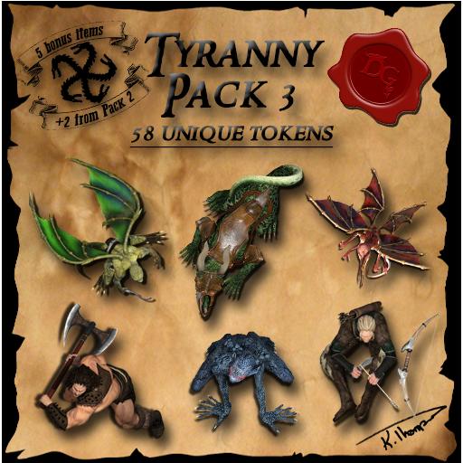 Ddraig Goch's Tyranny Pack 3