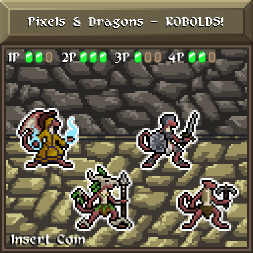 Pixels and Dragons - KOBOLDS!