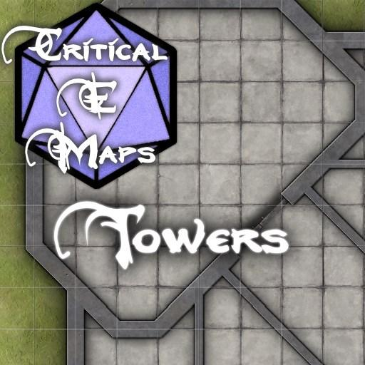 Critical E Maps: Towers