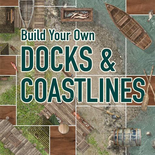 Build Your Own Docks & Coastlines