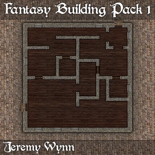 Fantasy Building Pack 1