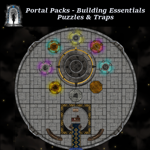 Portal Packs - Building Essentials 8 - Puzzles & Traps
