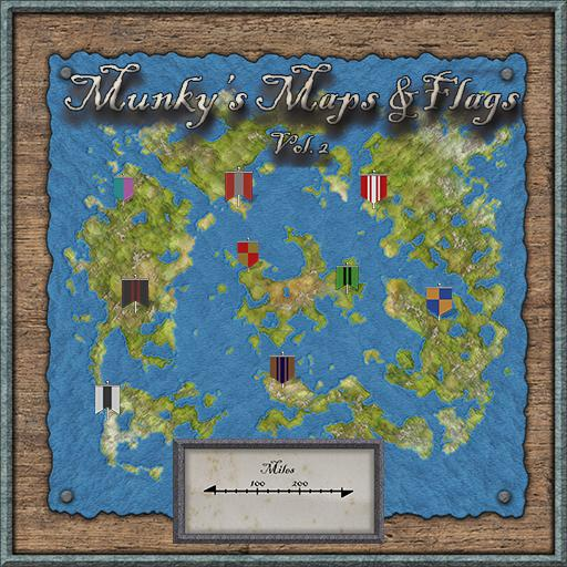 Munky's Maps & Flags Vol. 2