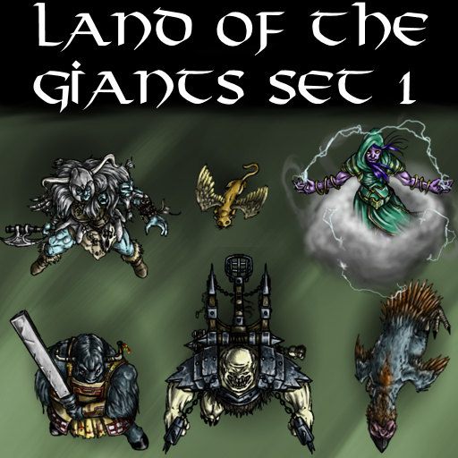 Land of the Giants Set 1
