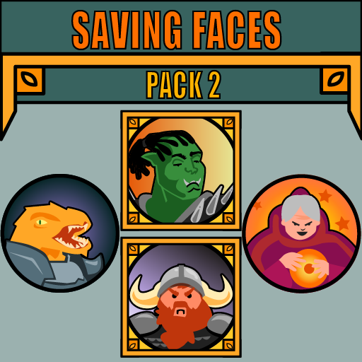 Saving Faces Pack 2