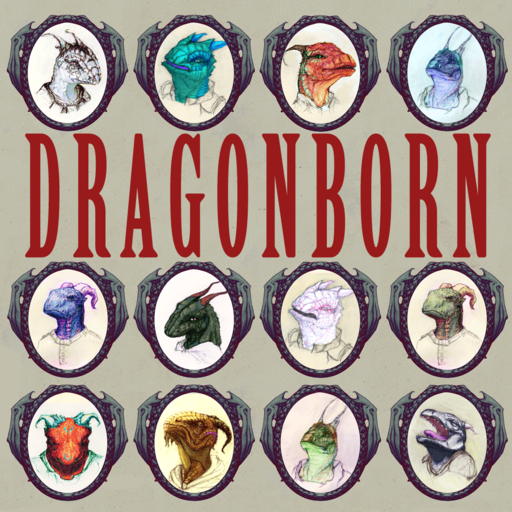 Dragonborn (N)PC Portraits and Tokens Pack
