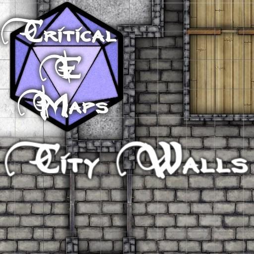 Critical E Maps: City Walls