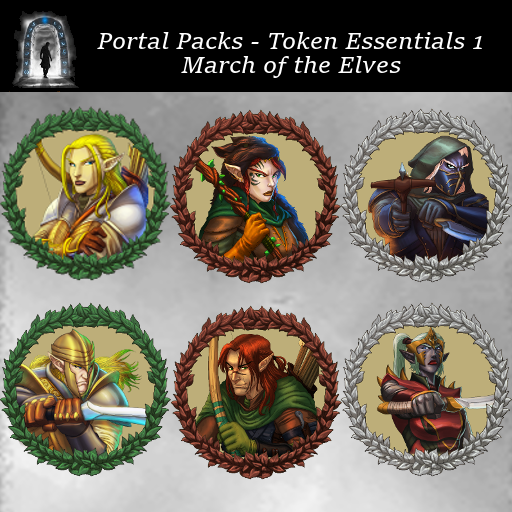 Portal Packs - Token Essentials 1 - March of the Elves
