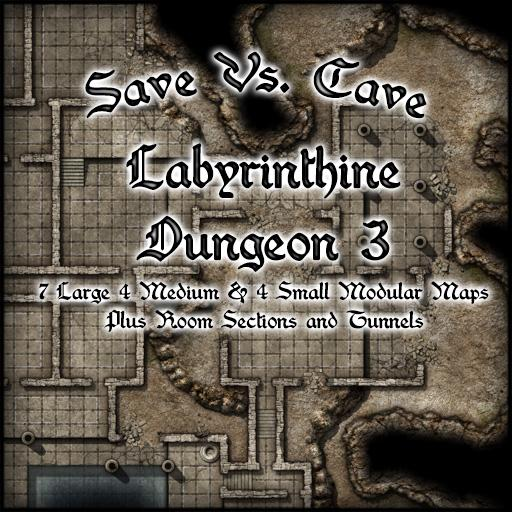 Save Vs. Cave Labyrinthine Dungeon 3