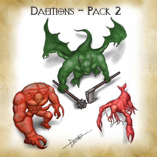 Daemons - Pack 2