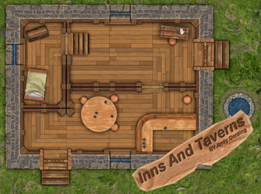 Inns and Taverns Roll20 Marketplace Digital goods for  : med from marketplace.roll20.net size 512 x 381 png 375kB