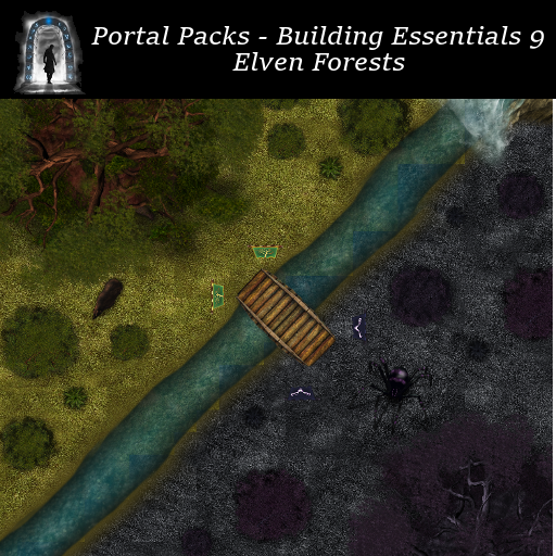 Portal Packs - Building Essentials 9 - Elven Forests