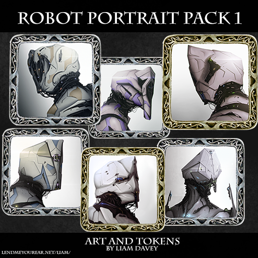 Robot Portrait Pack 1