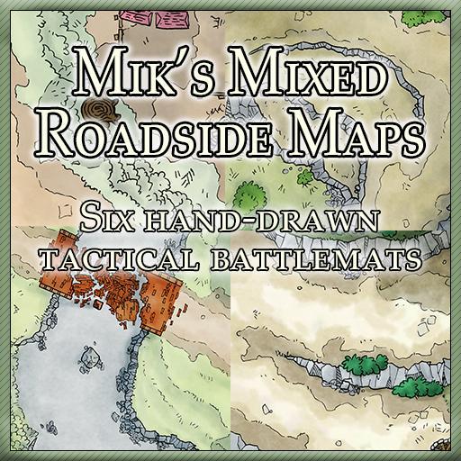 Mik's Mixed Roadside Maps