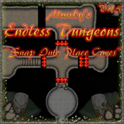 Munky's Endless Dungeon Vol. 5: Cave Tiles
