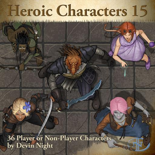 86 - Heroic Characters 15