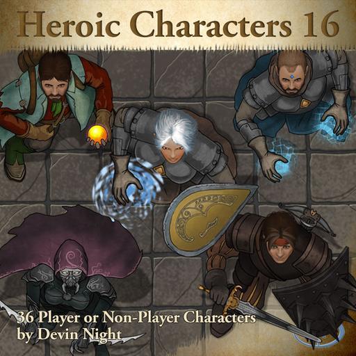 87 - Heroic Characters 16
